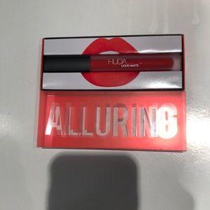 New custom shade Huda liquid matte for lips